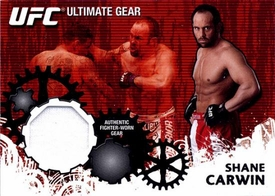 UFC Topps Ultimate Fighting Championship 2010 Championship Single Card Ultimate Gear Relic UG-SC Shane Carwin