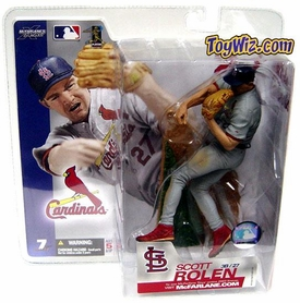 McFarlane Toys MLB Sports Picks Series 7 Action Figure Scott Rolen (St. Louis Cardinals) Gray Jersey