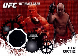 UFC Topps Ultimate Fighting Championship 2010 Championship Single Card Ultimate Gear Relic UG-TO Tito Ortiz