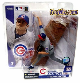 McFarlane Toys MLB Sports Picks Series 7 Action Figure Mark Prior (Chicago Cubs) Gray Jersey