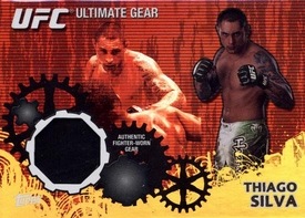 UFC Topps Ultimate Fighting Championship 2010 Championship Single Card Gold Ultimate Gear Relic UG-TS Thiago Silva 117/188