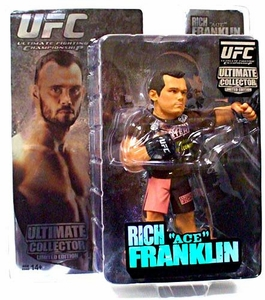 Round 5 UFC Ultimate Collector Series 3 LIMITED EDITION Action Figure Rich Franklin NUMBERED #1 / 500!