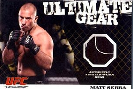 Topps UFC Ultimate Fighting Championship Single Card Round 1 Ultimate Gear Card Matt Serra 117/500
