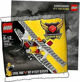 LEGO Master Builder Academy Set #20203 MBA Flight Designer {Kit 4} [Bagged] Includes Designer Handbook!
