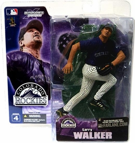 McFarlane Toys MLB Sports Picks Series 4 Action Figure Larry Walker (Colorado Rockies) Purple Jersey