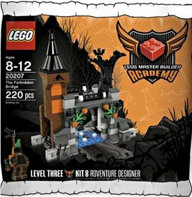 LEGO Master Builder Academy Set #20207 MBA Forbidden Bridge - Adventure Designer {Kit 8}