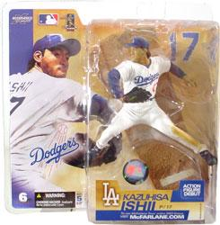 McFarlane Toys MLB Sports Picks Series 6 Action Figure Kazuhisa Ishii (Los Angeles Dodgers) White Jersey