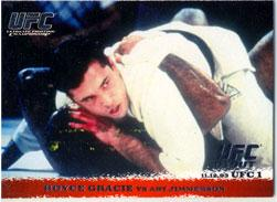Topps UFC Ultimate Fighting Championship Single Card Round 1 Royce Gracie #1