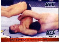 Topps UFC Ultimate Fighting Championship Single Card Round 1 Dan Severn #2