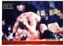 Topps UFC Ultimate Fighting Championship Single Card Round 1 Mark Coleman #3