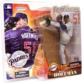 McFarlane Toys MLB Sports Picks Series 4 Action Figure Trevor Hoffman Gray Jersey Variant