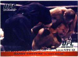 Topps UFC Ultimate Fighting Championship Single Card Round 1 Randy Couture #4