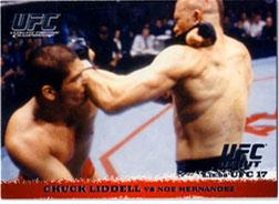 Topps UFC Ultimate Fighting Championship Single Card Round 1 Chuck Liddell #5