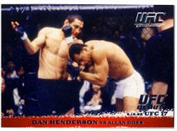 Topps UFC Ultimate Fighting Championship Single Card Round 1 Dan Henderson #6