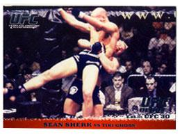 Topps UFC Ultimate Fighting Championship Single Card Round 1 Sean Sherk #9