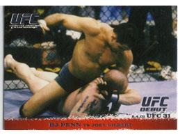 Topps UFC Ultimate Fighting Championship Single Card Round 1 BJ Penn #10