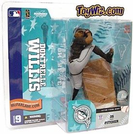 McFarlane Toys MLB Sports Picks Series 9 Action Figure Dontrelle Willis (Florida Marlins) Black Jersey BLOWOUT SALE!