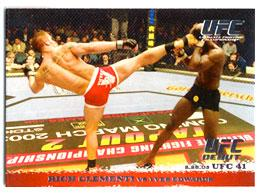 Topps UFC Ultimate Fighting Championship Single Card Round 1 Rich Clementi #13