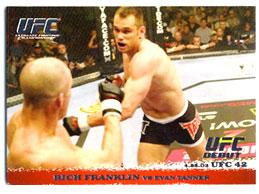 Topps UFC Ultimate Fighting Championship Single Card Round 1 Rich Franklin #14