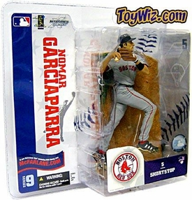 McFarlane Toys MLB Sports Picks Series 9 Action Figure Nomar Garciaparra (Boston Red Sox) Gray Jersey BLOWOUT SALE!