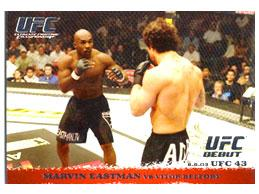 Topps UFC Ultimate Fighting Championship Single Card Round 1 Marvin Eastman #15