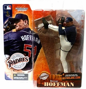 McFarlane Toys MLB Sports Picks Series 4 Action Figure Trevor Hoffman (San Diego Padres) Blue Jersey