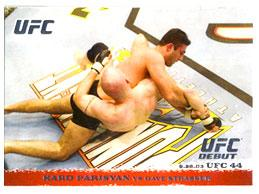 Topps UFC Ultimate Fighting Championship Single Card Round 1 Karo Parisyan #16