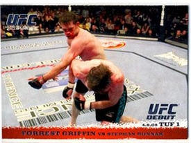 Topps UFC Ultimate Fighting Championship Single Card Round 1 Forrest Griffin #19