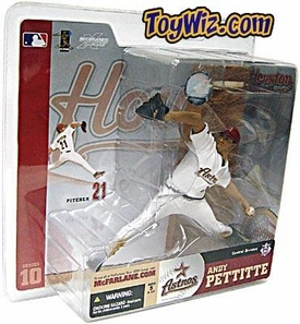 McFarlane Toys MLB Sports Picks Series 10 Action Figure Andy Pettitte (Houston Astros) White Jersey BLOWOUT SALE!