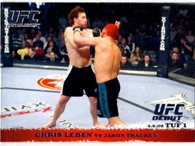 Topps UFC Ultimate Fighting Championship Single Card Round 1 Chris Leben #20
