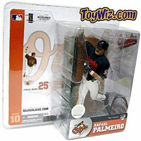 McFarlane Toys MLB Sports Picks Series 10 Action Figure Rafael Palmeiro (Baltimore Orioles) Black Jersey
