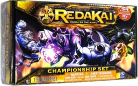 Redakai Card Game HOBBY Edition Championship Set [44 Cards. Character Bay, Screen, Counters & Draw Deck]