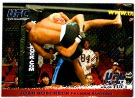 Topps UFC Ultimate Fighting Championship Single Card Round 1 Josh Koscheck #23