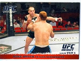Topps UFC Ultimate Fighting Championship Single Card Round 1 Mike Swick #24