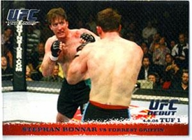 Topps UFC Ultimate Fighting Championship Single Card Round 1 Stephan Bonnar #25