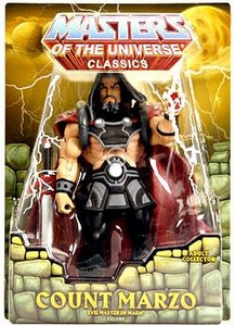 He-Man Masters of the Universe Classics Exclusive Action Figure Count Marzo [First Printing]