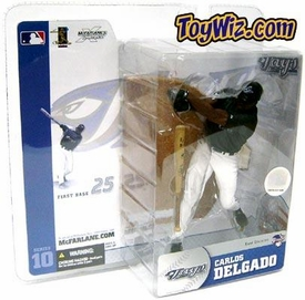 McFarlane Toys MLB Sports Picks Series 10 Action Figure Carlos Delgado (Toronto Blue Jays) Black Jersey