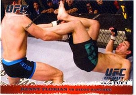 Topps UFC Ultimate Fighting Championship Single Card Round 1 Kenny Florian #26