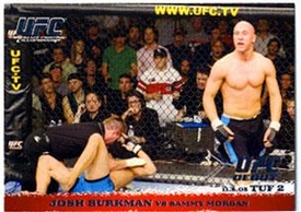 Topps UFC Ultimate Fighting Championship Single Card Round 1 Josh Burkman #28