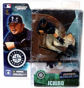 McFarlane Toys MLB Sports Picks Series 4 Action Figure Ichiro Suzuki (Seattle Mariners) Blue Jersey