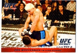 Topps UFC Ultimate Fighting Championship Single Card Round 1 Joe Stevenson #29