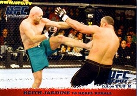 Topps UFC Ultimate Fighting Championship Single Card Round 1 Keith Jardine #30