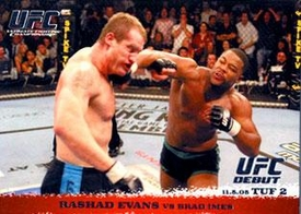 Topps UFC Ultimate Fighting Championship Single Card Round 1 Rashad Evans #31