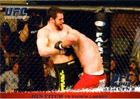 Topps UFC Ultimate Fighting Championship Single Card Round 1 Jon Fitch #33