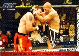Topps UFC Ultimate Fighting Championship Single Card Round 1 Brandon Vera #34