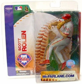 McFarlane Toys MLB Sports Picks Series 7 Action Figure Scott Rolen (Philadelphia Phillies) Phillies Uniform Variant
