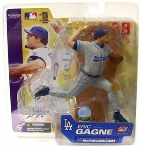 McFarlane Toys MLB Sports Picks Series 5 Action Figure Eric Gagne (Los Angeles Dodgers) Gray Uniform Variant