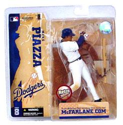 McFarlane Toys MLB Sports Picks Series 8 Action Figure Mike Piazza (Los Angeles Dodgers) Retro Dodgers Variant