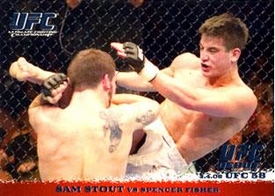 Topps UFC Ultimate Fighting Championship Single Card Round 1 Sam Stout #39