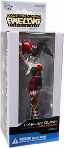 DC Direct Ame-Comi Heroine Series 1 Mini PVC Figure Harley Quinn Damaged Package, Mint Contents!